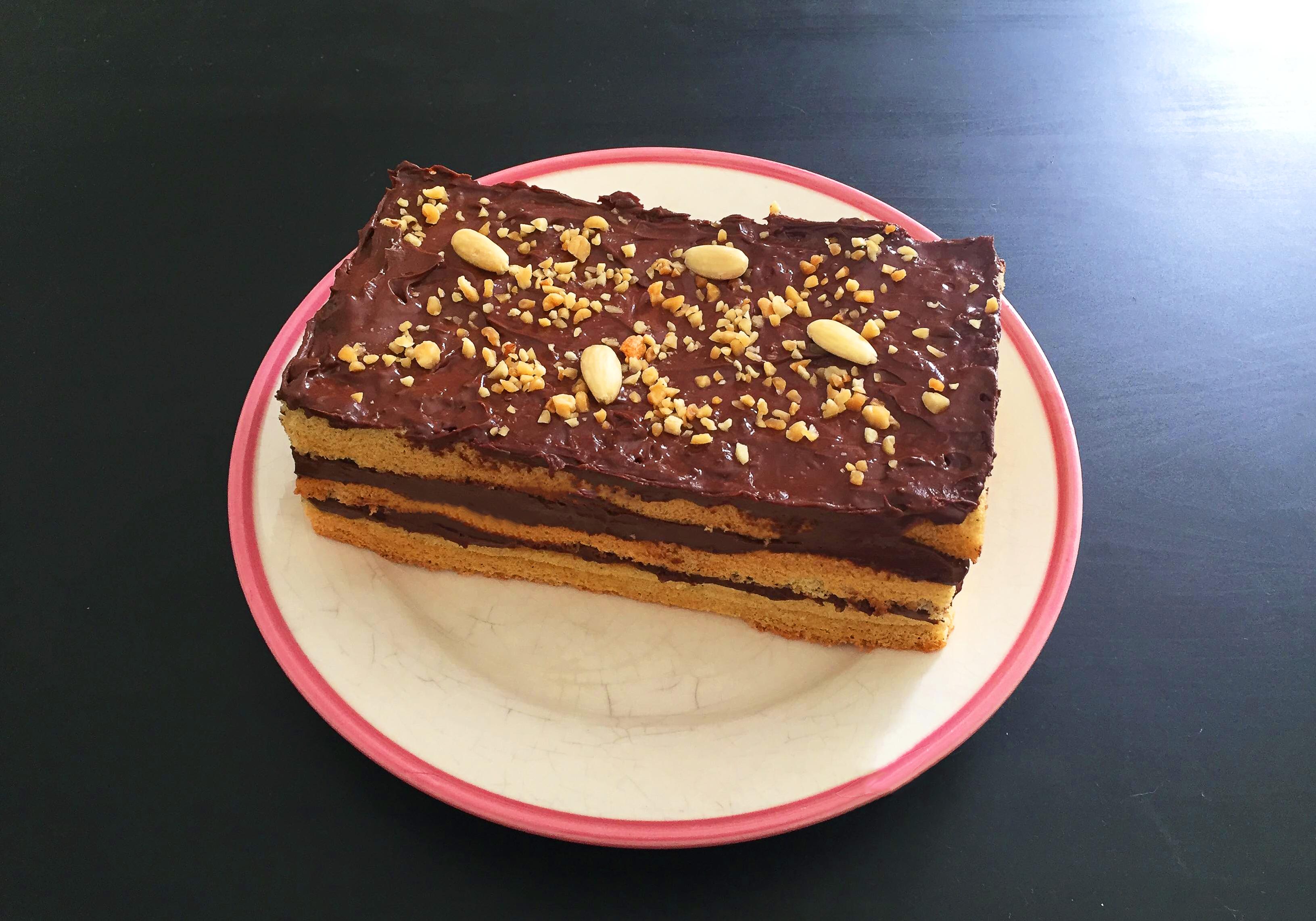 Gâteau au chocolat gourmand