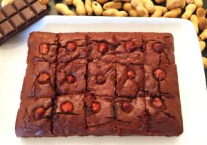 Brownie healthy à la cacahuète